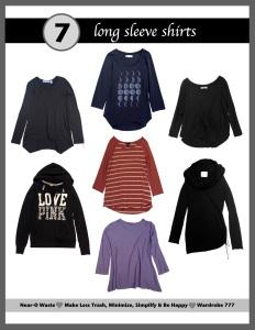 wardrobe long sleeve shirts
