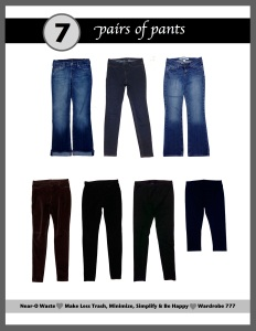wardrobe pants