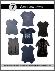 wardrobe short sleeve shirts